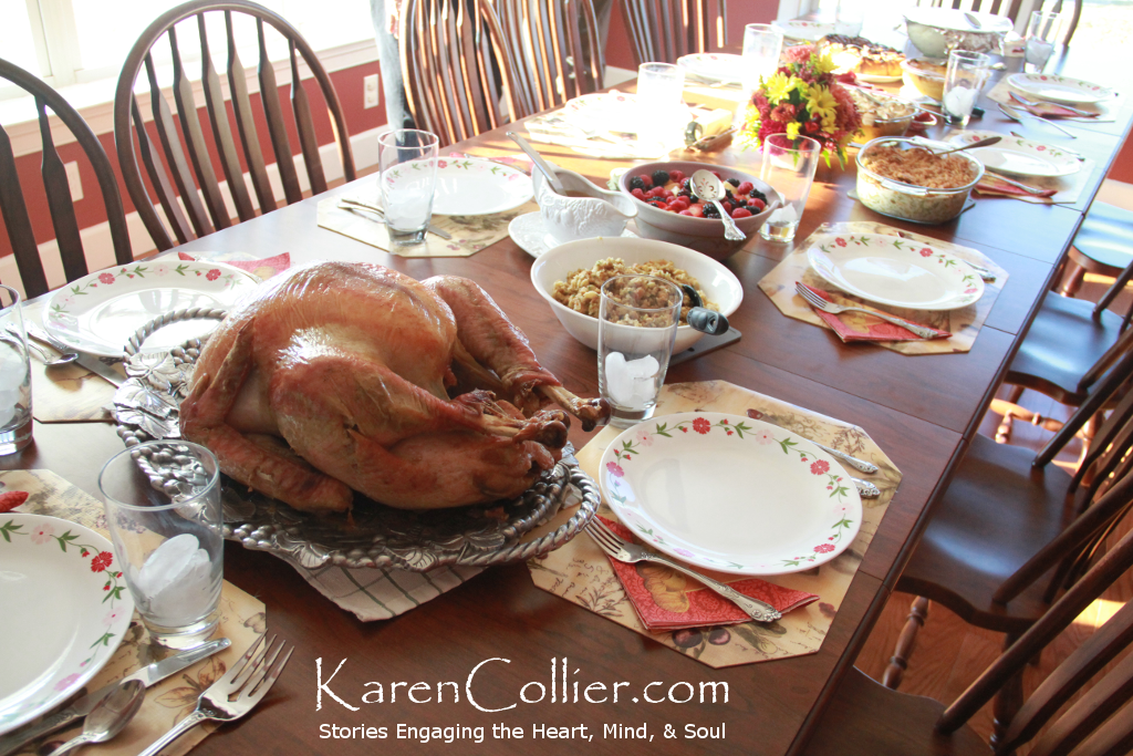 My family's 2013 Thanksgiving Feast