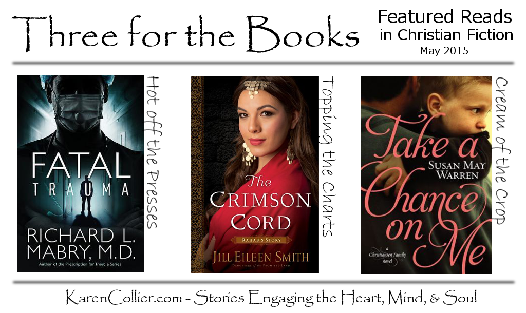 Featured Reads in Christian Fiction, May 2015